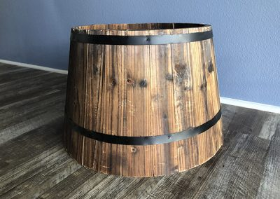 Wooden Circus Basket